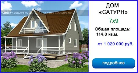 каркасные дома в Туле и Тульской области цена фото проекты